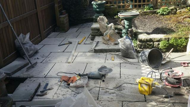 Patio Installers Stockport